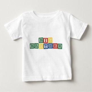 Blocs de bébé de frère t-shirt pour bébé