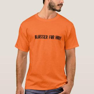 Blogger pour le tee - shirt de location - montrez t-shirt
