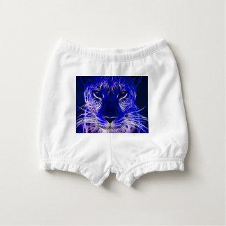 Bloomer Pour Bébé conception bleue de fractale de guépard