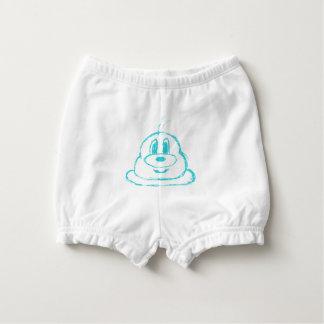 Bloomer Pour Bébé Défaites de couche-culotte hérissées par bébé