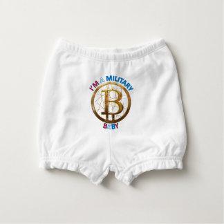 Bloomer Pour Bébé Habillement militaire de bébé de Bitcoin