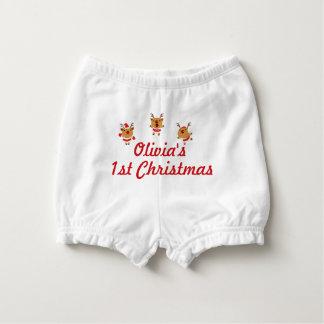 Bloomer Pour Bébé Noël de Joyeux Noël de renne de danse ęr premier