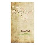 Blossoms♥♥ rose vintage de cerise de PixDezines Modèle De Carte De Visite
