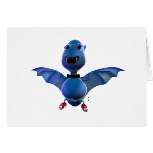 Blue Bat Collection Carte De Vœux