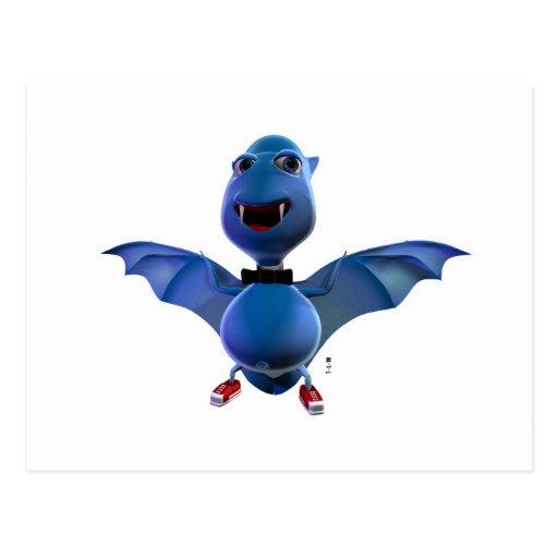 Blue Bat Collection Carte Postale