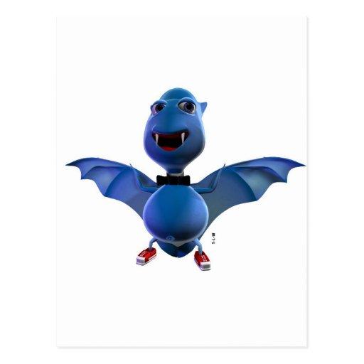 Blue Bat Collection Cartes Postales