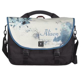 Blue butterfly sac ordinateurs portables