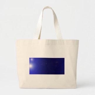 blue halo sac en toile