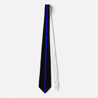 Blue Line mince attachent Cravates