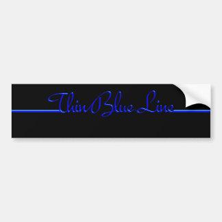 Blue Line mince Autocollant De Voiture
