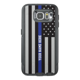Blue Line mince - coutume personnalisée de drapeau