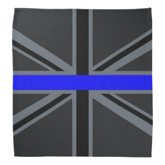 Blue Line mince élégant Union Jack Bandana