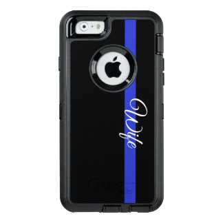 Blue Line mince : Épouse Otterbox Iphone 6/6s C de Coque OtterBox iPhone 6/6s