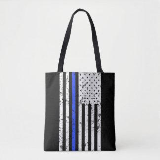 Blue Line mince - policier - sac