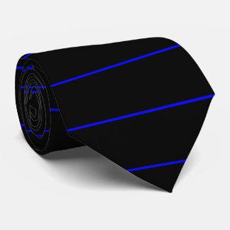 Blue Line mince symbolique façonnent Cravates