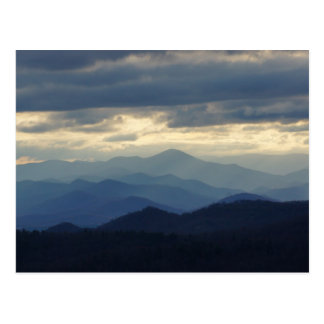 Blue Ridge Mountains Carte Postale