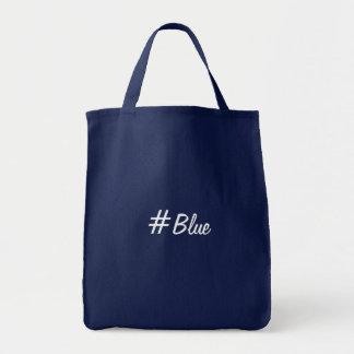 #Blue Sac En Toile