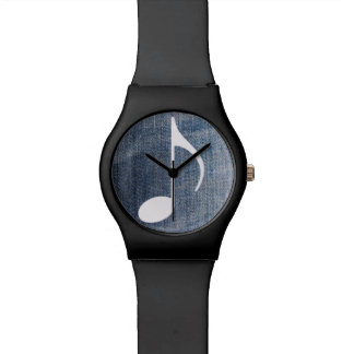 blues-jean musicales montres cadran
