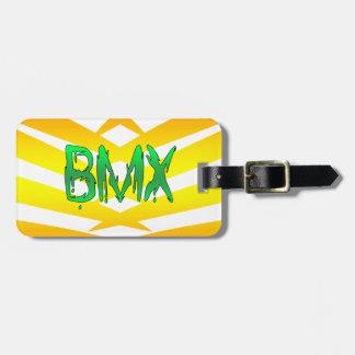 Bmx Étiquette À Bagage