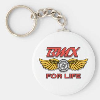 BMX pendant la vie Porte-clé Rond