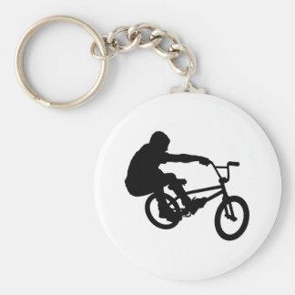 BMX Rider_3 Porte-clé Rond