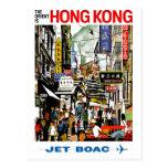 BOAC - Hong Kong Carte Postale