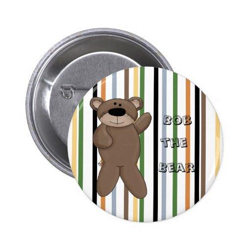 Bob mignon le bouton de Pin d'amusement d'ours Badges