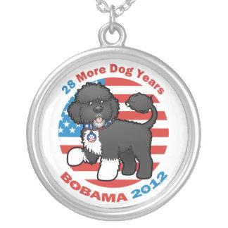 Bobama drôle les élections du chien 2012 pendentif rond