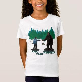 Bobo rencontre Squatch T-Shirt