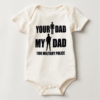 Body 1186 polices militaires - votre papa - mon papa