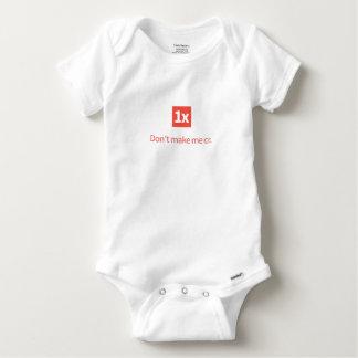Body 1x bébés wear «Don't ME Cr make. «