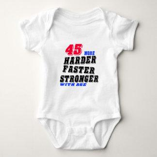 Body 45 plus forts plus rapides plus durs avec l'âge