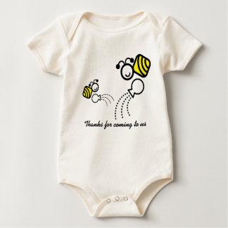 Body abeilles heureuses de travail