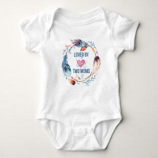 Body Aimé par la combinaison de Bohème de bébé de deux