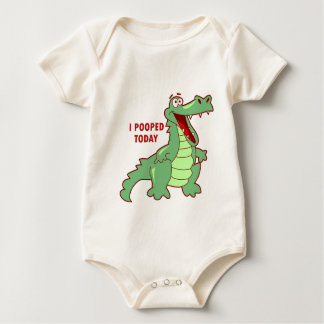Body Alligator drôle Pooped aujourd'hui