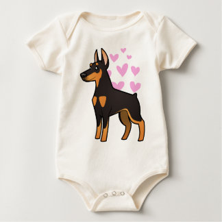 Body Amour de Pinscher de dobermann (oreilles pointues)