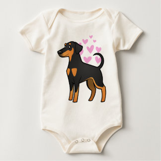 Body Amour de Pinscher de dobermann (oreilles souples)