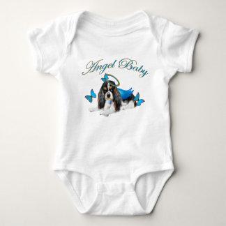 Body Ange cavalier de bébé de bouton du Roi Charles
