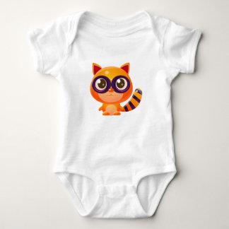 Body Animal de bébé de raton laveur dans le style doux