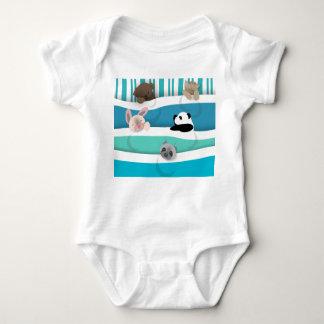 Body Animaux somnolents de bébé