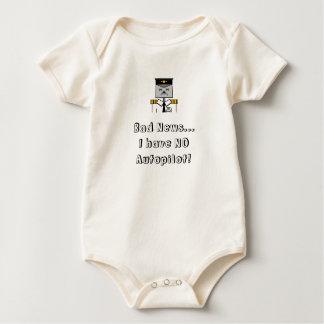 Body Aucun bébé de pilote automatique ne se développent