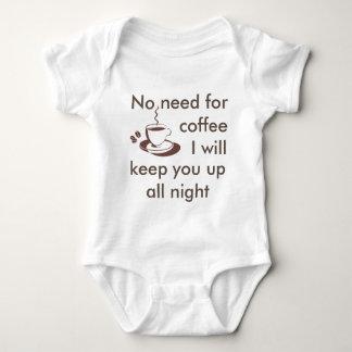 Body Aucun besoin de café… Plante grimpante de bébé