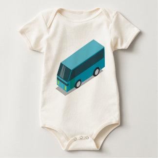 Body Autobus turquoise