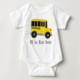 Body B est pour l'alphabet d'éducation d'autobus