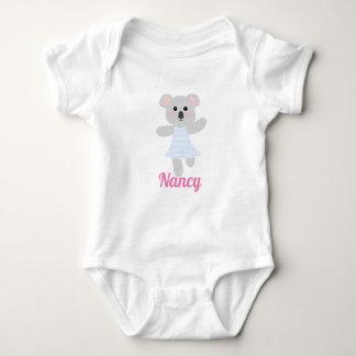 Body Baby shower gris mignon d'ours de koala de bébé