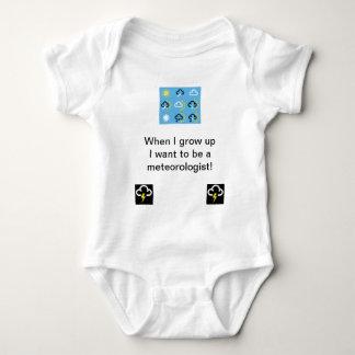 Body Babygrow de symboles de temps