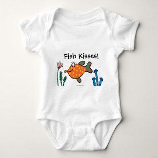 Body Baisers de poissons de maman et de bébé