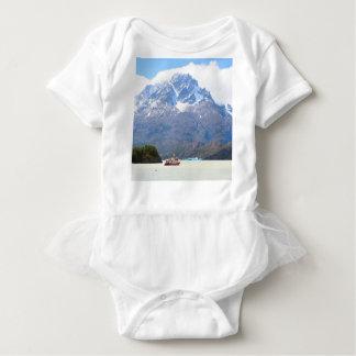 Body Bateau et montagnes, Patagonia, Chili