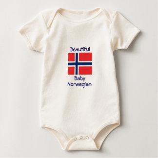 Body Beau Norvégien de bébé