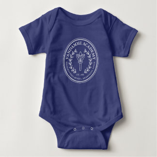 Body Bébé bleu de base Jersey d'académie de VanDamme